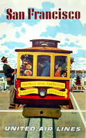 San-Francisco-united-air-lines-cable-car