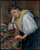 Paul_Cézanne_(French_-_Young_Italian_Woman_at_a_Table_-_Google_Art_Project