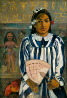 Paul_Gauguin_-_The_Ancestors_of_Tehamana_OR_Tehamana_Has_Many_Parents_(Merahi_metua_no_Tehamana)_-_Google_Art_Project